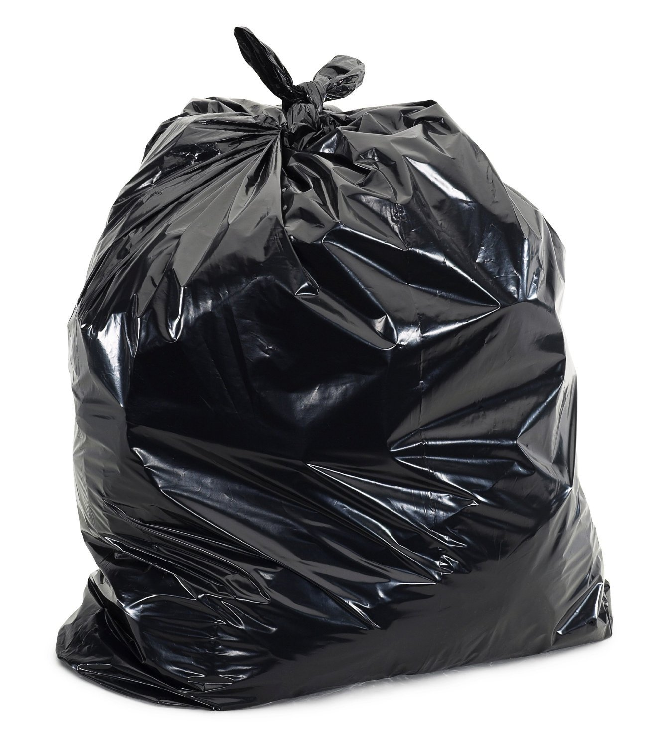 Black Plastic Trash Bags